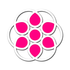 Anagrama simbolo habilidad emocional consciencia espiritualidad inteligencia emocional otras habilidadess sentimientos psicologia psicoanalisis dogma religion cristianismo budismo petalos atomo logo logotipo